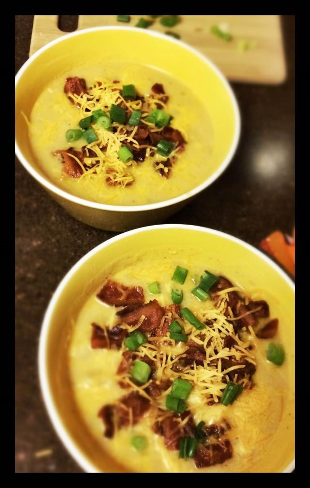 creamy potato soup 7