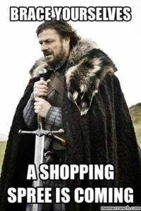 stark shopping meme